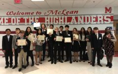Model UN Wins Best Middle School at McLean Conference