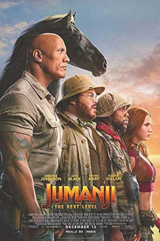 "With the gang back together, they explore a new unknown territory in the popular new movie ""Jumanji: The Next Level."""
