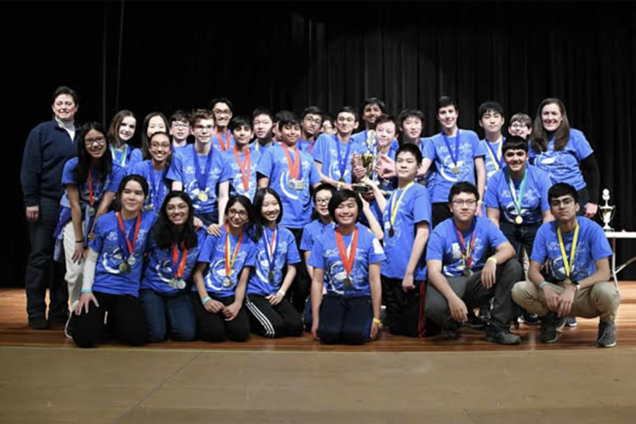 Longfellow's Science Olympiad team won first place in regionals this year but were unable to compete at Nationals due to quarantine measures.