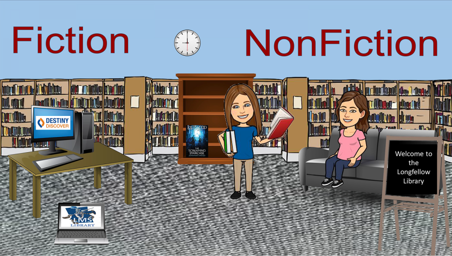 Librarians Ms. Hoyle and Ms. Saladino have created a virtual space to help connect students with resources.