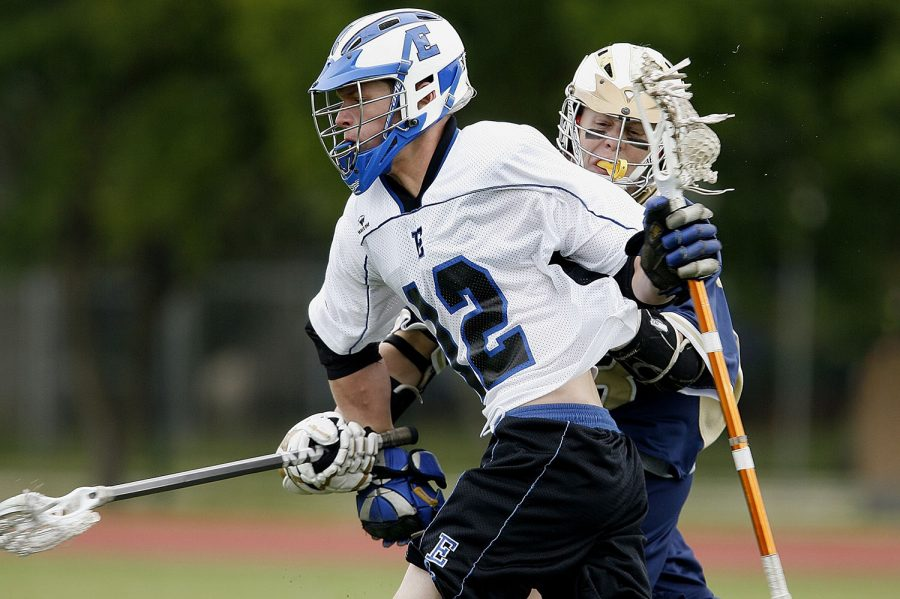 Lacrosse is increasing in popularity among youth players.