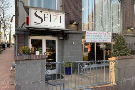 Local restaurants such as Sfizi in Falls Church have been suffereing due to the cold weather, keeping customers from eating outdoors.