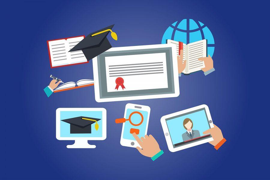 Teachers Meet Challenges of Online School