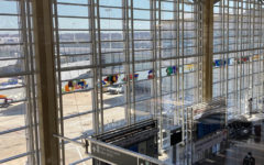 Reagan National Airport remained  mostly empty during the COVID-19 pandemic, but started filling up with travelers again as vaccines rolled out this spring.