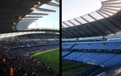 Manchester City's home stadium, the Etihad, is among the Premier League stadiums playing without in person fans during the COVID-19 global pandemic, though Manchester City are set to welcome back 10,000 fans in their stadium for their final Premier League match of the season on May 23, 2021.