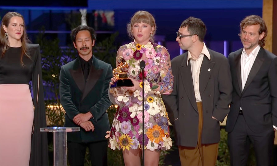 Taylor Swift was among the many women making history at the 2021 GRAMMYs.