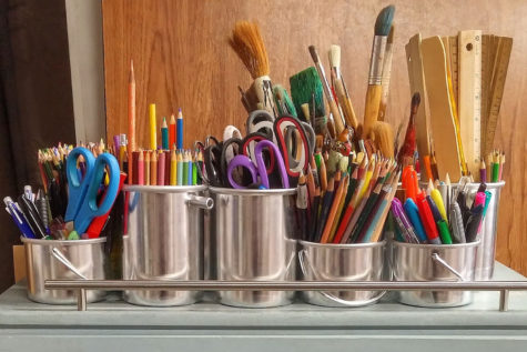 Many students who take art classes say that they are a great place to simply be themselves and express their feelings and ideas through art forms.
