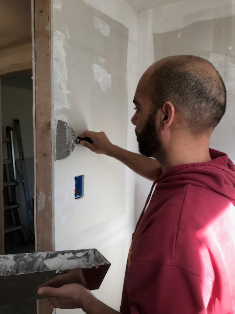 Assistant Principal Kevin Sami learned to do household repairs using YouTube Videos.